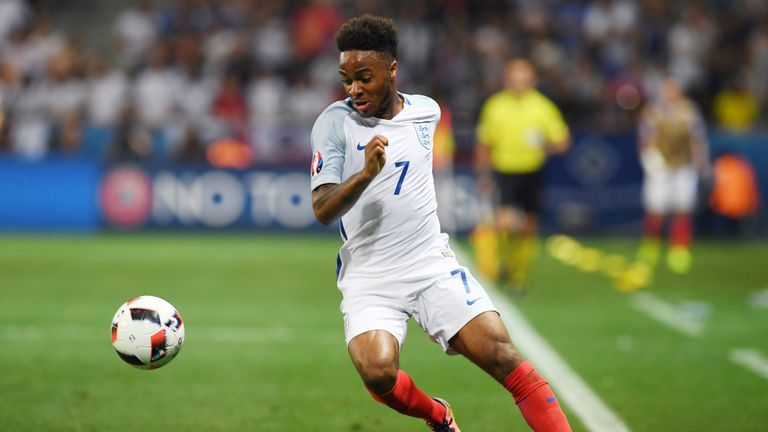 Raheem Sterling struggled to find his best form at the competition