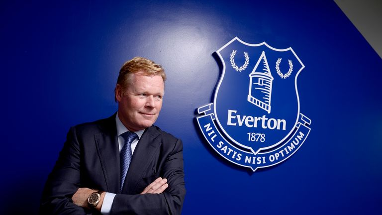 Ronald koeman backed to succeed at everton football news - Football conference south league table ...