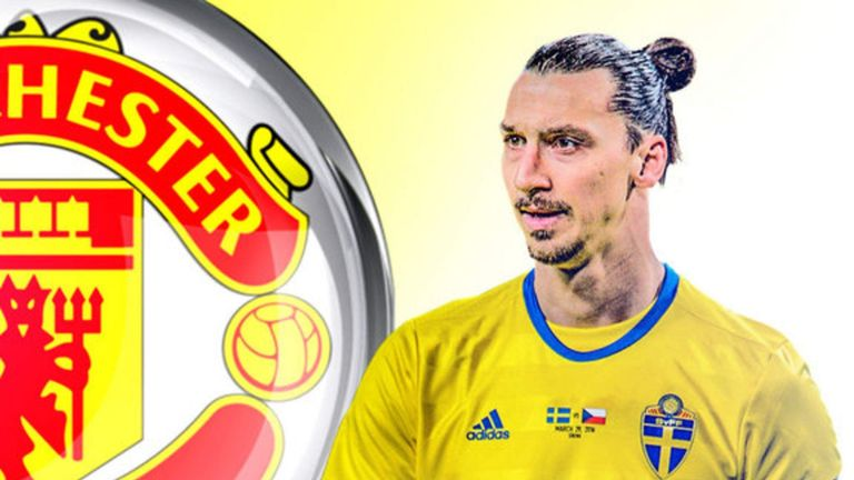 Zlatan Ibrahimovic confirms Manchester United transfer  Football News