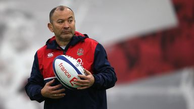 Eddie Jones will lead England against South Africa, Fiji, Argentina and Australia in the autumn
