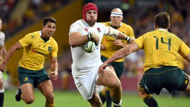James Haskell excelled for England during the series win over Australia