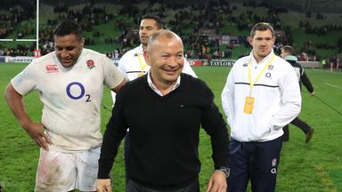 England head coach Eddie Jones said he was honoured to be considered to coach the British and Irish Lions