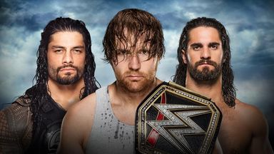 Roman Reigns, Dean Ambrose and Seth Rollins will fight for the world title at WWE Battleground
