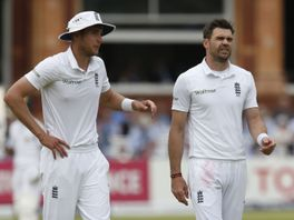 Broad (l) and Anderson: Now planning for England's winter tours