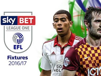 The Sky Bet League One fixtures are out