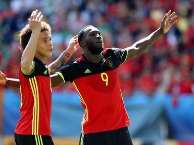 Romelu Lukaku scored twice during Belgium's group games at Euro 2016