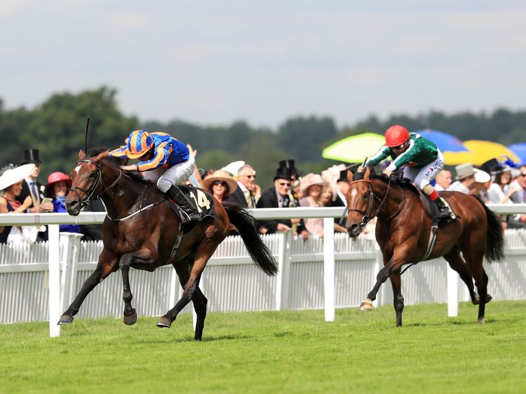 Order Of St George wins the Ascot Gold Cup