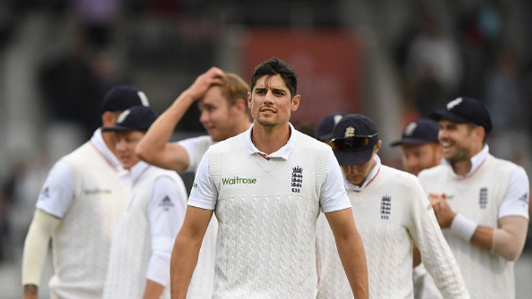 Alastair Cook will become England's most capped Test player in the first Test