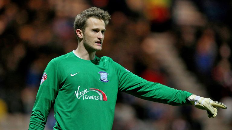 Anders Lindegaard in action for Preston who he now joins on a permanent deal