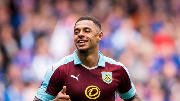 Andre Gray's goals fired Burnley to promotion last season