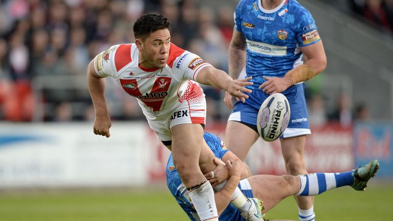 Andre Savelio kicked off his career as a Warrington junior