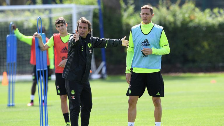 Image result for antonio conte chelsea players