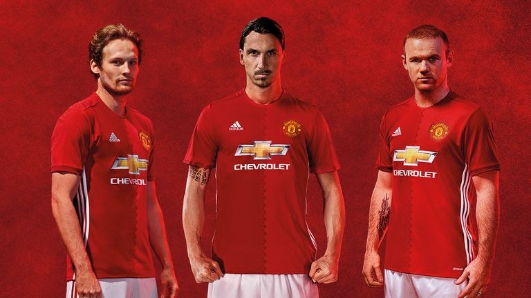adidas and Manchester United unveil new 2016/17 third kit ...