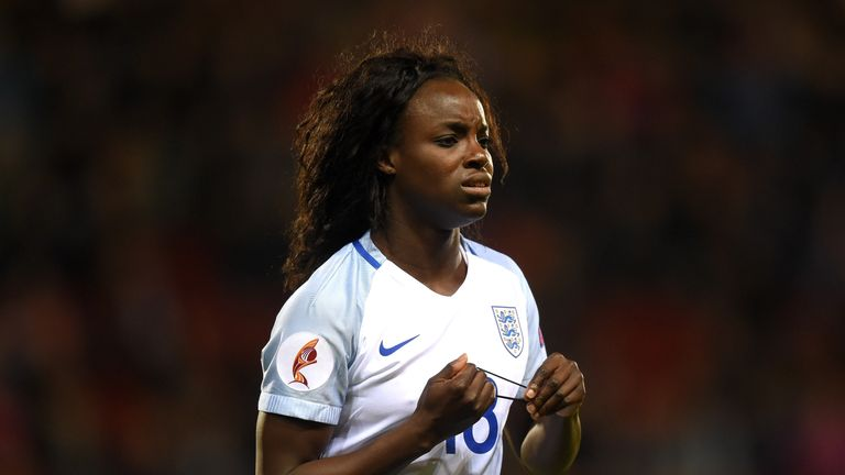 Eniola Aluko has made new claims of discriminatory behaviour which the FA and Mark Sampson strongly deny
