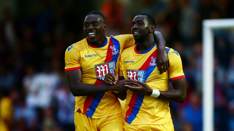 Yannick Bolasie (right) has been linked with a move to Everton