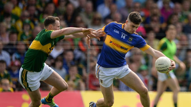 Michael Quinlivan is one of five players from Tipperary who have been recognised