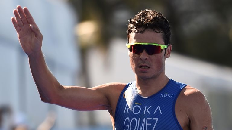 triathlon sunglasses zjkr  Javier Gomez Noya has been forced to pull out of the Olympics