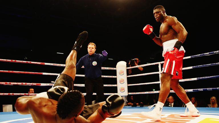 Izuagbe Ugonoh has racked up a destructive 16-fight unbeaten record