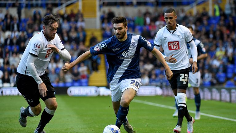 Jon Toral impressed at Birmingham City last season