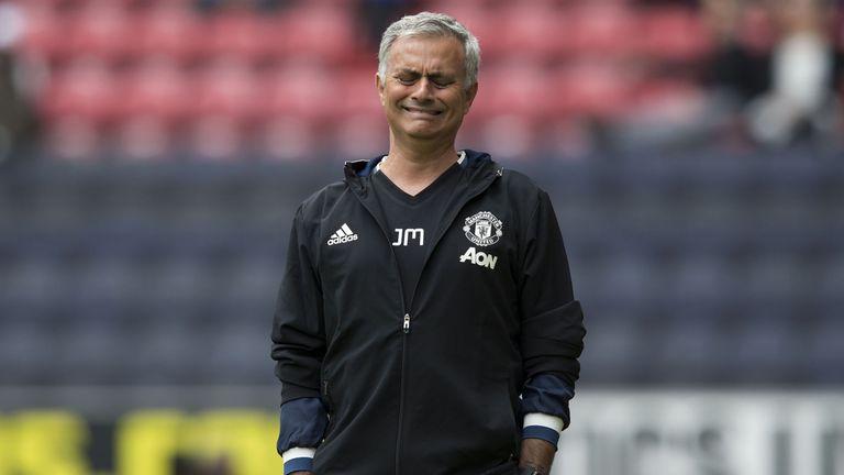 Resultado de imagen de Mourinho manchester united