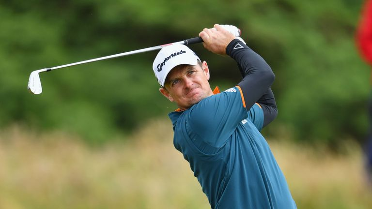 US Open champion Johnson likes his chances at Troon