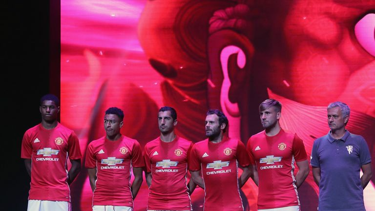 Manchester United 16-17 Home Kit Released - Footy Headlines