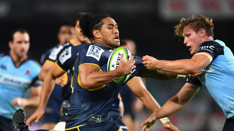 Tomane scored 25 tries for the Brumbies after switching codes