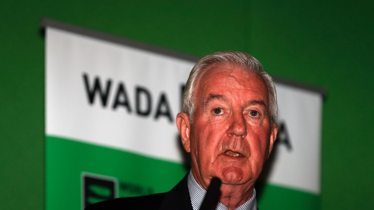 Sir Craig Reedie announced he would continue as president of WADA for a new three-year term in November last year