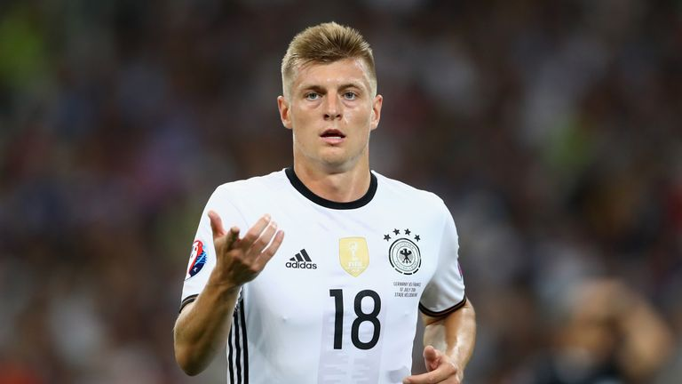 Toni Kroos will be pulling the strings for Germany