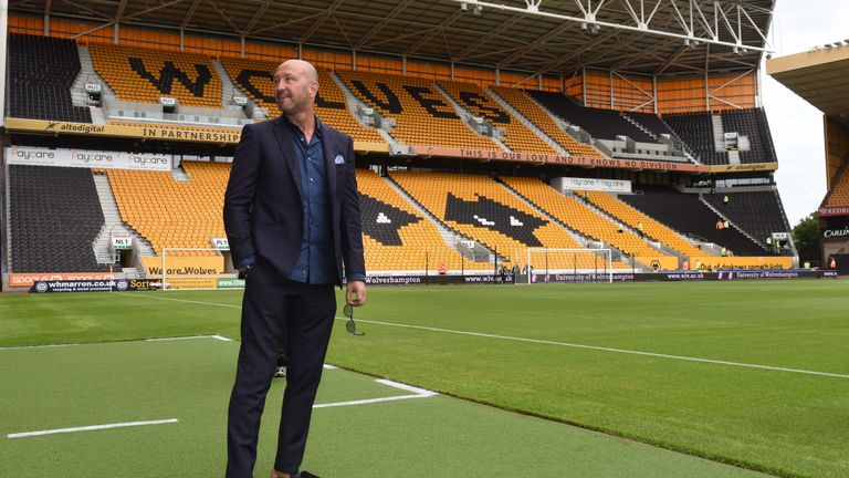 Walter Zenga is the new manager of Wolverhampton Wanderers.
