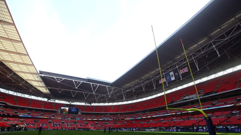 Wembley Stadium has hosted International Series NFL games since 2007