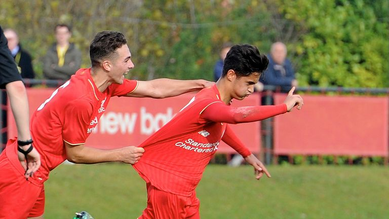 Liverpool have high hopes for talented youngster Yan Dhanda (right)