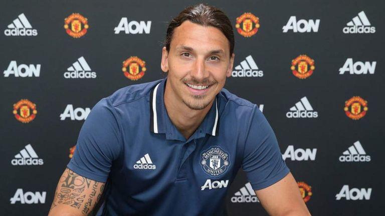 Zlatan Ibrahimovic signing for Manchester United