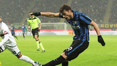 Adem Ljajic was on loan at Inter Milan last season