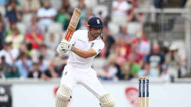 England captain Alastair Cook piles on the runs