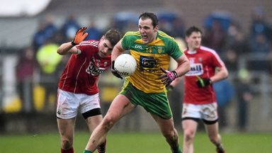 Donegal were 2-14 to 1-7 winners over Cork when they met in Ballyshannon in this year's National League