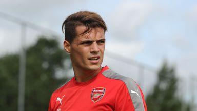 Xhaka has already made an impression on his new Arsenal team-mates