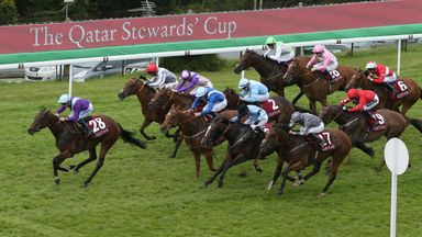 Dancing Star proved too good for her rivals in the Stewards' Cup