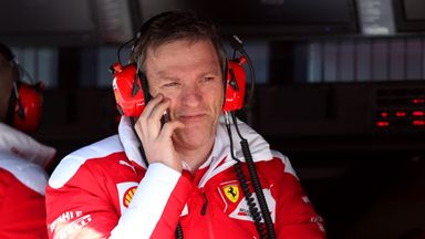 James Allison has left Ferrari after three years with the team