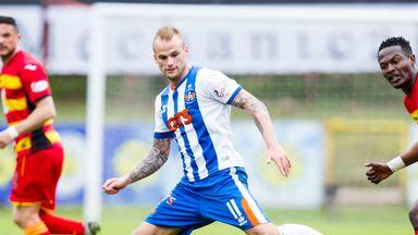 Kallum Higginbotham has signed for Dunfermline after leaving Kilmarnock
