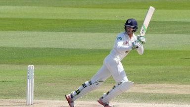 Jennings hit 221 not out for Durham against Yorkshire in June