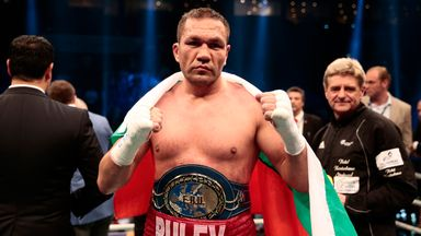 Kubrat Pulev has been named as a possible next opponent for Anthony Joshua