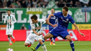 Nemanja Matic was part of the Chelsea side beaten by Rapid Vienna in their first pre-season game