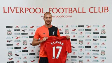 Ragnar Klavan says the Premier League is 'the home of football' after completing his move to Liverpool