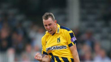 Rikki Clarke was in sensational form against Worcestershire