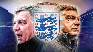 Sam Allardyce England graphic 21/07/2016