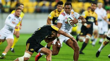 Seta Tamanivalu in action for the Chiefs