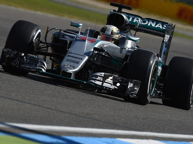 Lewis Hamilton was dominant once more