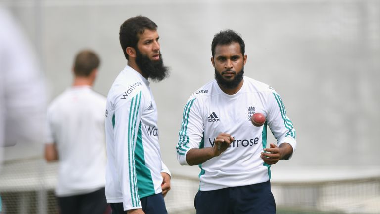 England spinners Adil Rashid (right) and Moeen Ali will have big bearing on Test series, says Rob Key