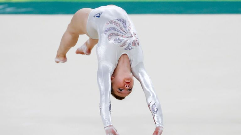 floor gymnastics olympics. Tinkler Produced A Superb Performance To Claim Fantastic Bronze Medal Floor Gymnastics Olympics C